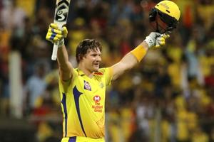 Follow full scorecard of Chennai Super Kings vs Sunrisers Hyderabad, IPL2018 final here. Shane Watson in action for CSK against SRH in the Indian Premier League (IPL) 2018 summit clash on Sunday.