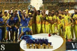 Chennai Super Kings paint Wankhede Stadium yellow with glitzy celebrati...