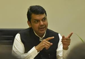"Chief Minister Fadnavis accused Thackeray of ""insulting the election process""."