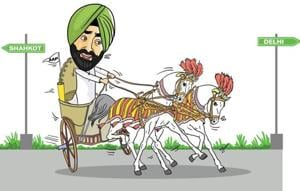 Sukhpal Khaira spends so much time assailing both the Congress and the SAD that you feel he will automatically lead the charge in any fight against them.