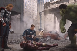 The Battle of New York will be revisited in Avengers 4, according to leaked set pictures.