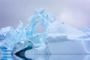 Airborne radar data were also collected to enable mapping of the bedrock topography hidden beneath the ice sheet.