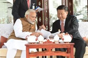 Chinese President Xi Jinping and India