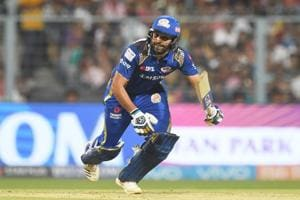 Rohit Sharma led Mumbai Indians in IPL2018 but the team could not qualify for the playoffs.