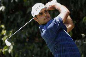 Subhankar Sharma had two three-putts on front nine and missed three putts at Fort Worth Invitational golf on Monday.
