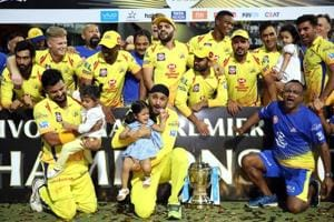 Dads and daughters' day out as CSK stars celebrate IPL 2018 title with ...