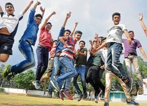 The second position in the Class 10 board results in Uttarakhand was shared by three students.