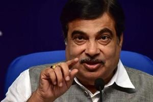 Union water resources minister Nitin Gadkari.
