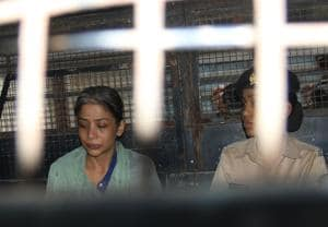 Indrani and her husband, former media baron, Peter Mukerjea and her ex-husband Sanjeev Khanna are facing the charge of killing her Indarni's daughter from her initial relationship, Sheena Bora.