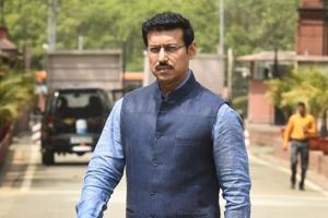 Rajyavardhan Rathore said the NDA government has worked on infrastructure, women and farmers' issues.