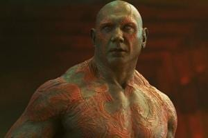 Dave Bautista's (spoilers) character Drax died in Avengers: Infinity War.