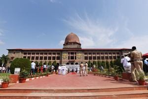 Cadets during the passing out ceremony at National Defence Academy in Pune.