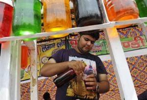 Sharbat Mela is an annual feature at Delhi's Dilli Haat.