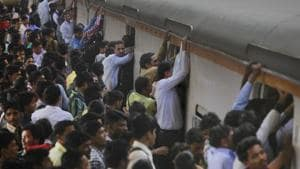 The incident took place in the packed 6.25 pm Kasara-bound train on Wednesday.