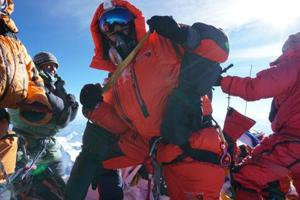 Colonel Sarfraz Singh Kular recently led an eight-member expedition to the Mount Everest.