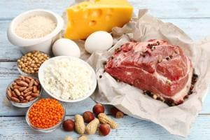 Can a high protein diet lead to heart failure risk.