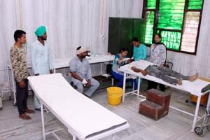 The emergency ward at the Bhagta Bhai Ka community health centre when it is functional.