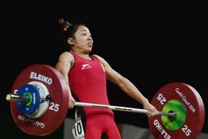 K Sanjita Chanu set a new Commonwealth Games (CWG) record in Gold Coast with a lift of 84 kg in snatch and 108 kg in clean and jerk, to finish with a total of 192 kg.