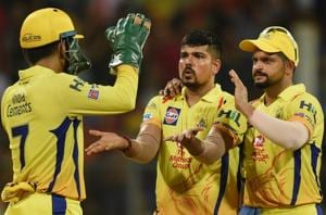 Suresh Raina (R) lauded MS Dhoni's (L) contribution to the success of Chennai Super Kings (CSK) in the IPL.