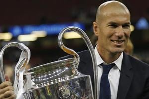 Zinedine Zidane is the second most decorated manager in REal Madrid's history with nine trophies.