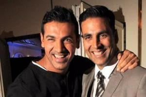 Akshay Kumar and John Abraham have worked together in Housefull 2 and Garam Masala. They are likely to come together for Hera Pheri 3.