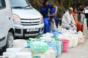 No protests were witnessed in Shimla town on Sunday and civic body claimed that water supply which was 28 MLD (million litres a day) on Saturday rose to 37 MLD on Sunday.