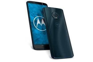 Moto G6 will be available exclusively via Amazon India and at Moto Hub stores across India in Indigo Black colour.