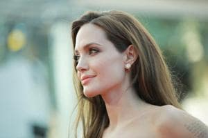 Angelina Jolie is currently filming Maleficent 2.