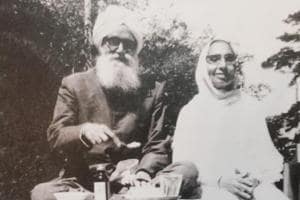 Jeweller late Parma Singh and his wife Atam Kaur, who moved from Abbottabad after communal clashes started in the NorthWest Frontier Province in mid-40s, to settle in Shillong.