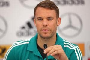 Manuel Neuer was included in the Germany football team for the upcoming FIFA World Cup 2018.
