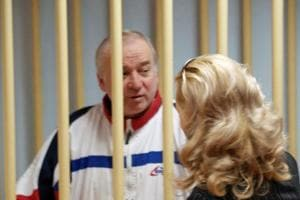 Sergei Skripal (pictured) and his daughter Yulia have been taken to an undisclosed place by British authorities after being discharged from hospital.