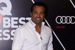 Mumbai: Tennis player Leander Paes at the Red Carpet of GQ Best Dressed 2018, in Mumbai on May 26, 2018. (Photo: IANS)