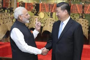 In this photo released by China