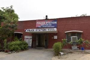 Police Station at Sector 9A, in Gurugram. The city police are planning to requisition around 200 vehicles to replace their ageing fleet.