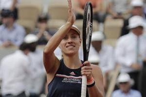Angelique Kerber will next take on Simona Halep in the French Open quarter-final.