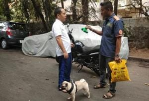 After the introduction of 2006 byelaws, BMC initiated a citywide drive in 2007 and planned to fine pet owners for letting their pets litter in pubic places and failing to pick up fater them.
