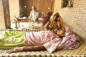 Vidya Devi, 62, is suffering from cancer and her condition is stated to be critical.