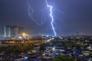 Heavy rains lashed Mumbai on June 4, 2018.