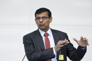 Raghuram Rajan, former governor of the Reserve Bank of India (RBI), speaks during a conference hosted by the Bank of Japan (BOJ) and the Institute for Monetary and Economic Studies in Tokyo, Japan, on Wednesday, May 30, 2018.