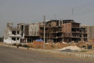 Officials said property dealers sold 50 to 100 square yard plots, forcing the government to take preventive measures.