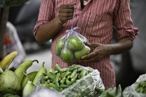 Plastic bags, measuring less than 50 microns, are banned in Delhi and, yet, markets are overflowing with them.