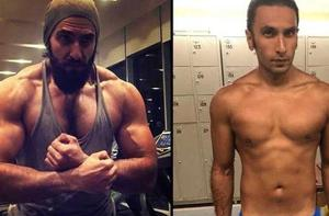Ranveer Singh beefed up for his role of Khilji in Padmaavat and lost a lot of weight for Gully Boys.