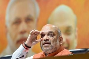 BJP president Amit Shah has his sights set on West Bengal, where he wants his party to win at least 22 seats in the upcoming Lok Sabha polls.