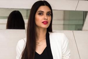 Diana Penty during Parmanu promotional drive in New Delhi.