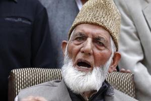Hurriyat hardliner Syed Ali Shah Geelani