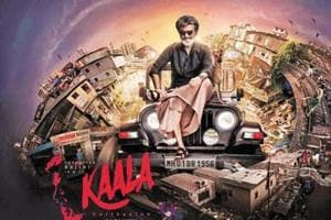 Rajinikanth, as a slum lord turned gangster, plays the lead in Kaala.