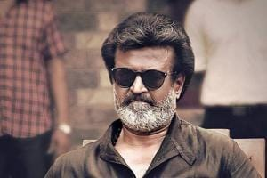 Rajinikanth in a still from his latest film, Kaala.