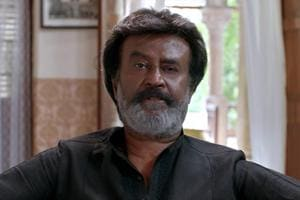 Kaala, directed by Pa Ranjith, documents the story of a slum lord who turns into a gangster.