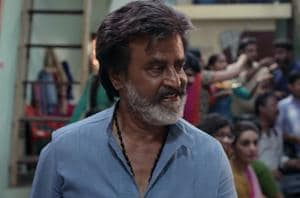 Rajinikanth in a still from Kaala.