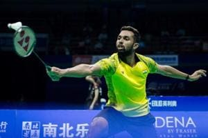 HS Prannoy is currently ranked a career-high world No 8